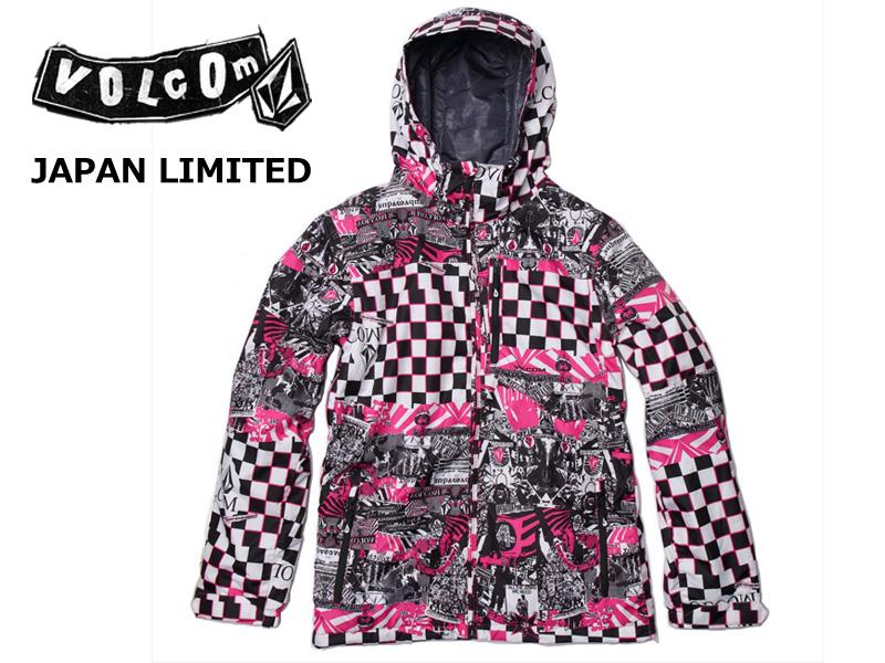 ボルコム【VOLCOM】ウェア 日本限定モデル 【JAPAN LIMITED】J-Ex Shadow JKT JAPAN EXCLUSIVE SERIES ウェアー ジャケット スノーボード スノーウェア