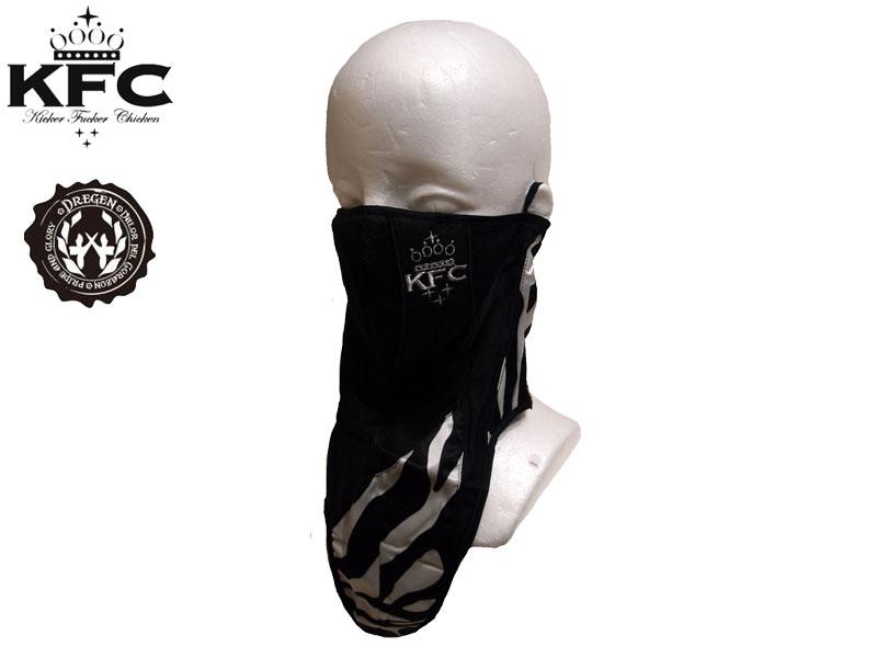 DREGEN Dragon KFC Kickerfashkirchkin Kicker Fucker Chicken Collaboration With Face Mask FACEMASK ARABIAN NIGHTS Snowboard Ski Tan Cold Prevention
