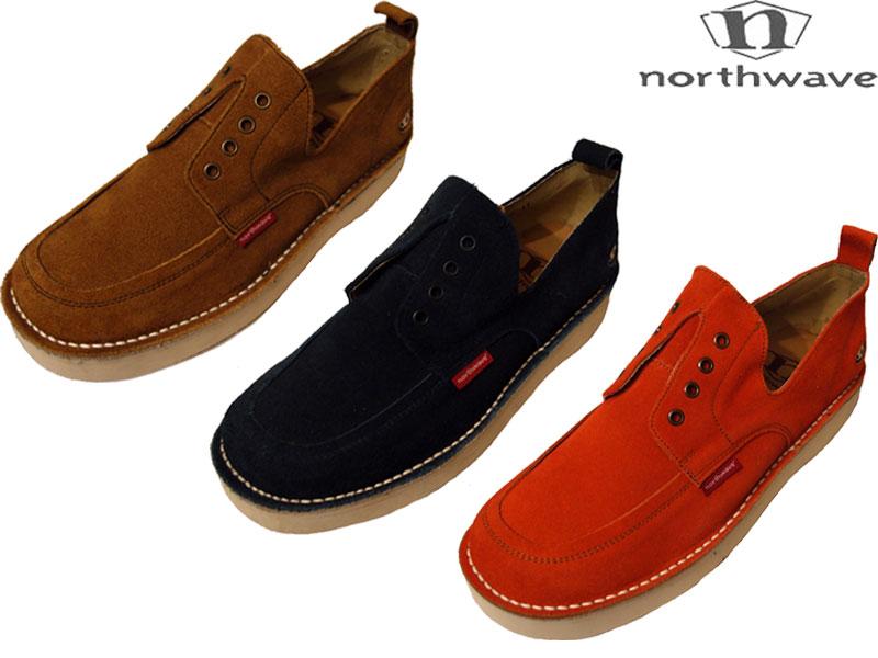 【NORTHWAVE ノースウェーブ】スニーカー 靴 送料無料 デッドストック BROWN NAVY ORANGE 24cm 27cm 28cm 29cm