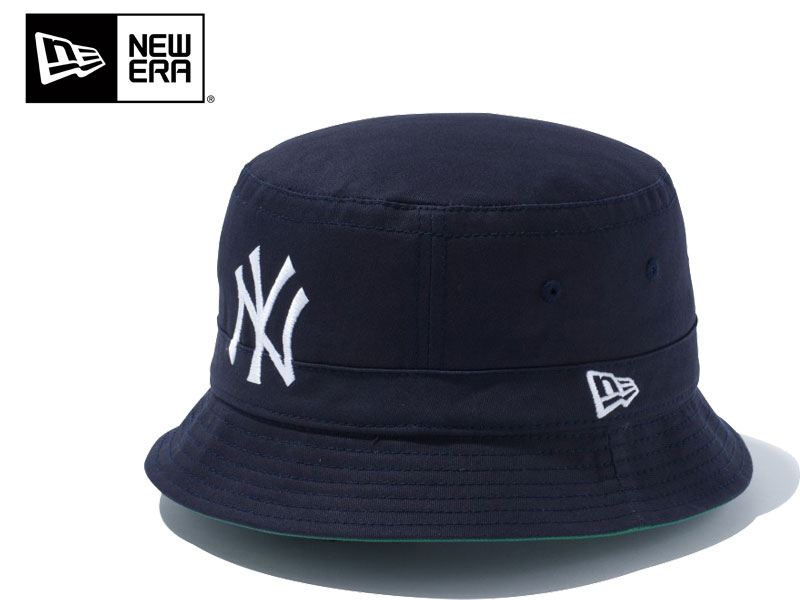 NEW ERA new era bucket Hat Bucket-02 Team Logo New York-Yankees HAT CAP Hat  11099905 gifts eb073166c9b