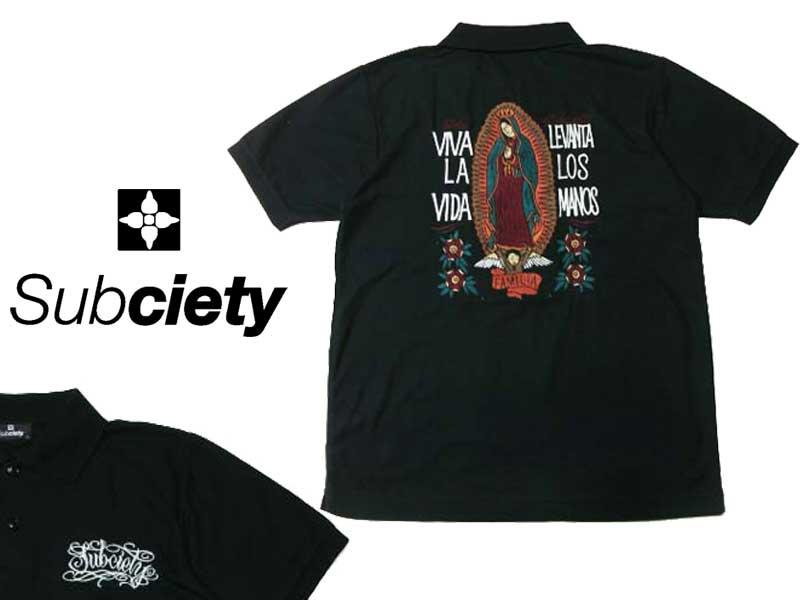 Subciety サブサエティ EMBROIDERY SHIRT ワークシャツ シャツ ボタンシャツ 半袖ストリート ファッション OLLIE SAMURAI オーリー サムライ