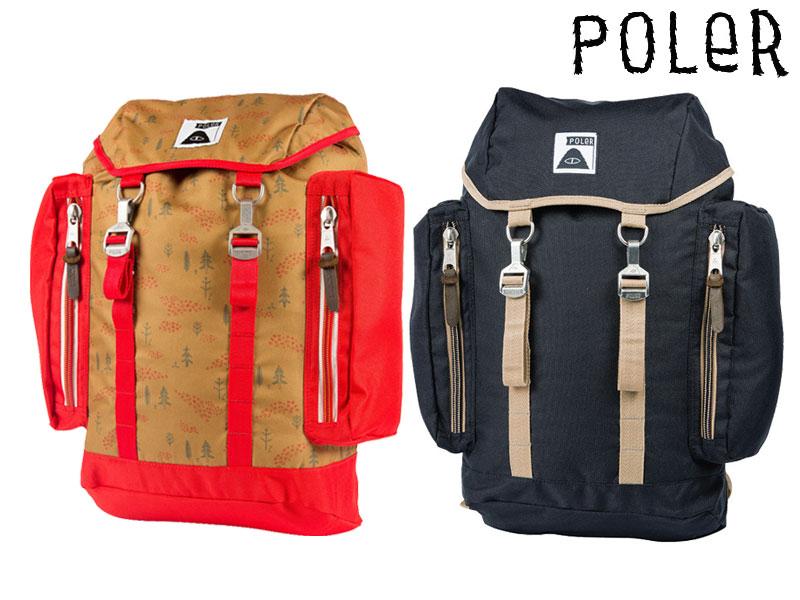 POLER CAMPING STUFF ポーラーThe Rucksack 2.0 612019 リュック バックパックアウトドア キャンプ 25L 送料無料