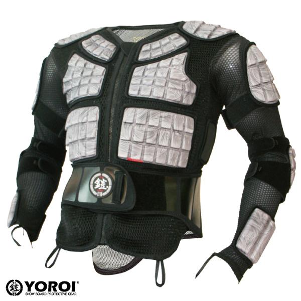 【鎧】【YOROI】【ヨロイ】 雪板 鎧 プロテクター TAITAN JACKET HD防具 YR443 スノボー スノーボード