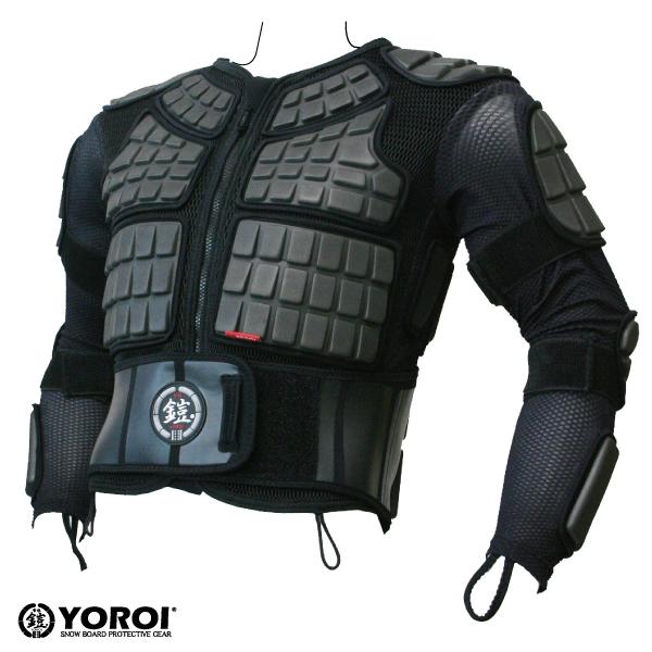 【鎧】【YOROI】【ヨロイ】 雪板 鎧 プロテクター TAITAN JACKET BRYR448 スノボー スノーボード