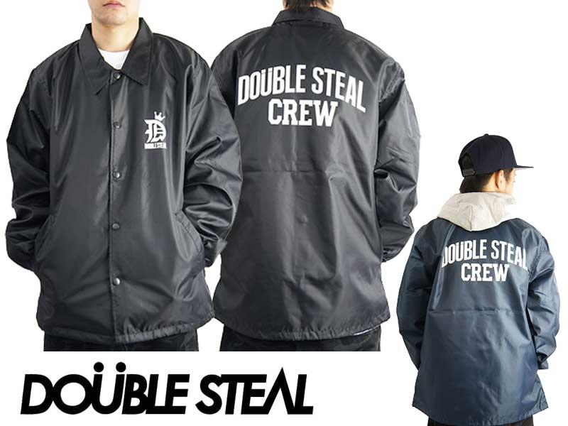 DOUBLE STEAL ダブルスティール Coach Jacket 764-34091 コーチジャケット ジャケット アウター 裏地付き ストリート