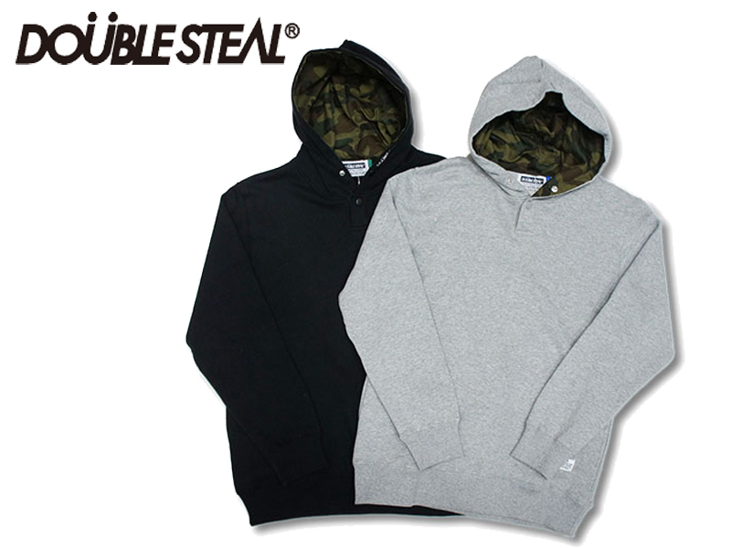 DOUBLE STEAL DOUBLESTEAL ダブルスティール Hood Camouflage Parker 965-67009 パーカー プルパーカー プルオーバー OLLIE SAMURAI オーリー サムライ