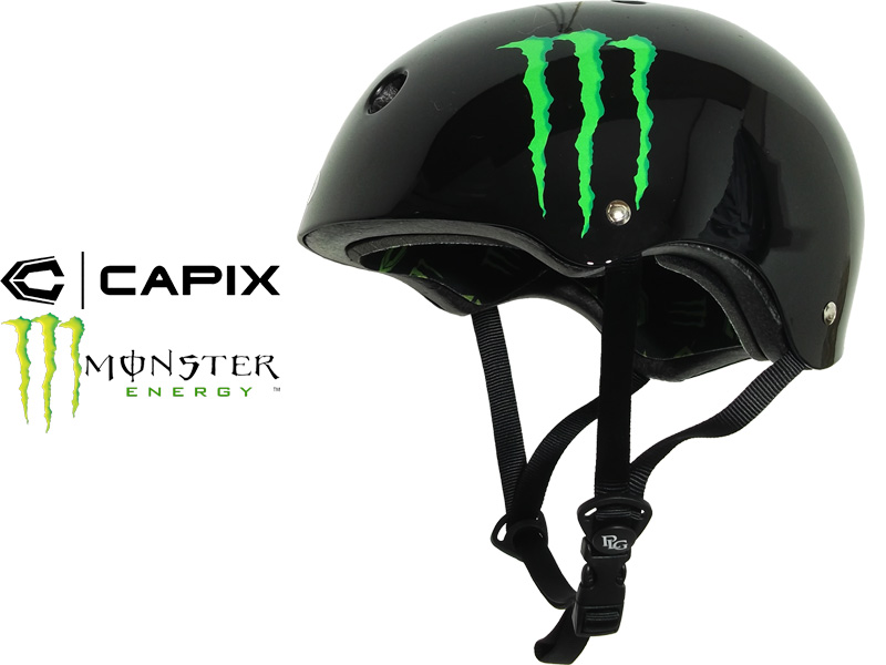 Tool for CAPIX キャピックス MONSTER ENERGY monster energy child service Jr. helmet collaboration protector protection snowboarding wake board skateboarding skateboard bicycle motocross bicycle