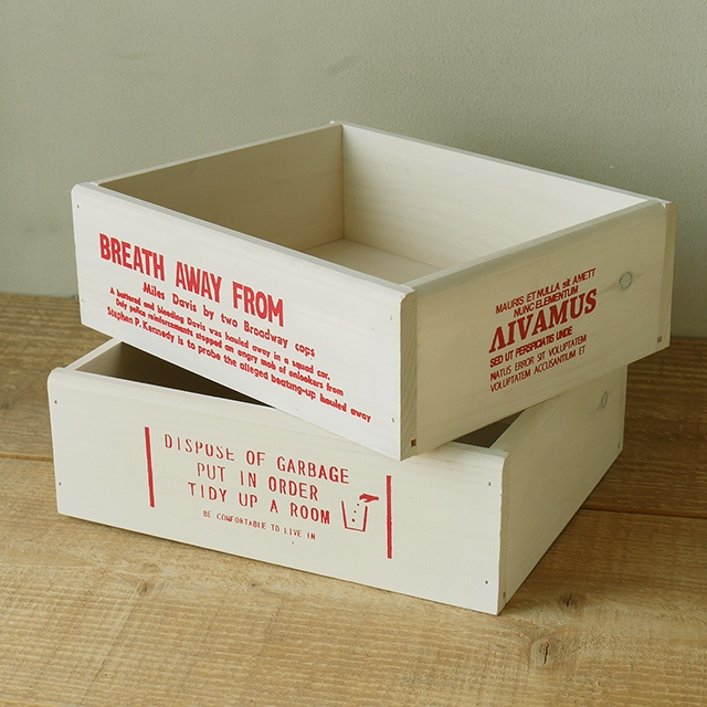 フレンチカントリー おしゃれ インテリア 北海道産パイン材を使用 日本製 ナチュラル アメリカン カントリー カフェ雑貨 北欧 ウッドボックス 収納ストッカー フレンチ ファクトリーアウトレット WOOD BREAブレア BOX 大 収納ボックス 木箱 ホワイト ガーデニングやおもちゃ箱に 価格 小物入れ
