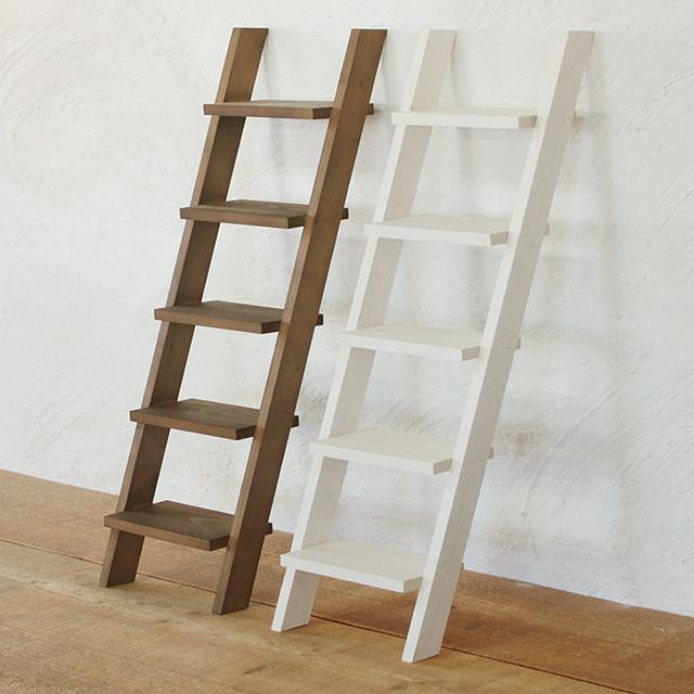 アンティーク 木製 インテリア 木製はしご 5段 ガーデニング フラワー台 おしゃれ ミニチュアスタンド ディスプレイ 観葉植物 飾り台 BREA