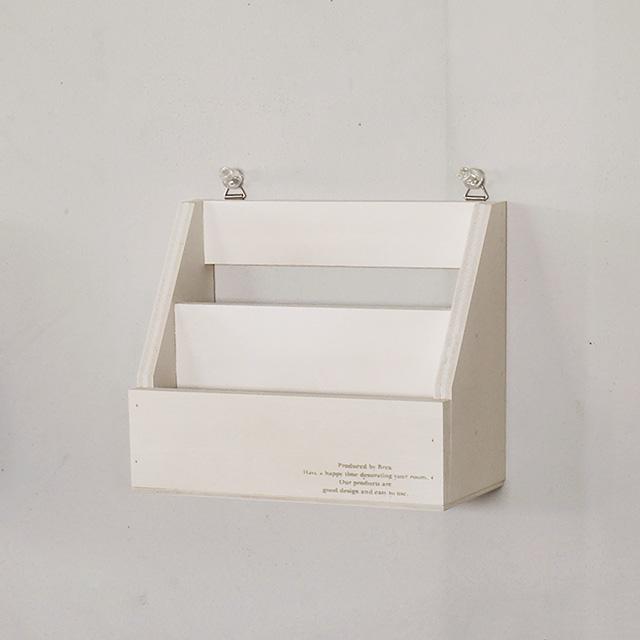 日本製 レターラック 卓上小物 木製 レターラック小 ホワイト の整理に 定番の人気シリーズPOINT ポイント 入荷 はがき 手紙 おしゃれ雑貨 マート 壁掛け