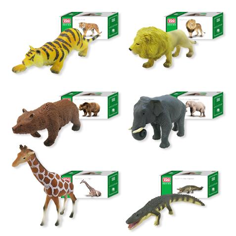 とってもリアルにフィギアです aniZooミニチュアフィギュア かわいい リアル 動物園 トラ ライオン 激安通販ショッピング クマ コレクション キリン ワニ 超定番 ゾウ 贈り物 ギフト