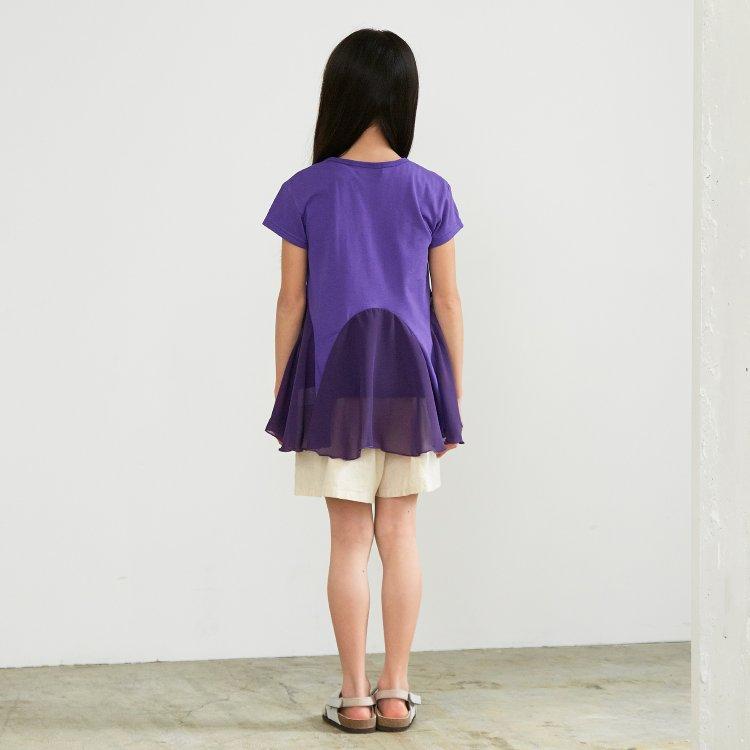 12f6c6bedb46c 切り替えボリュームチュニック▽▽女の子BREEZEブリーズオールオルン子供服キッズベビーチュニックかわいい
