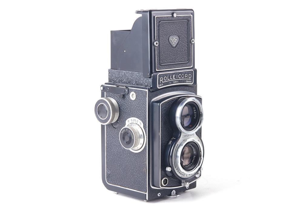 【良品】ローライ二眼レフカメラ/Rolleicord III Schneider Xenar 75/3.5レンズ付き#jp20198