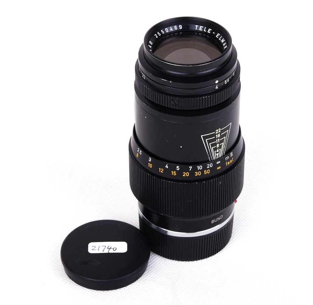 【美品】Leica/ライカ Tele-Elmar/テレエルマー M 135mm F4 BWB139 Bundeseigentum Military for M4 軍用#jp21740