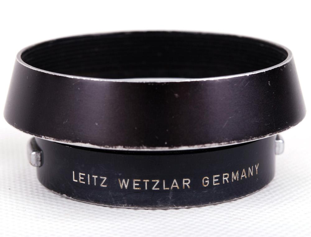 【特価美品】Leica/ライカ 12585H ブラック メタルフード 35mm 50mmレンズ適用#jp21684