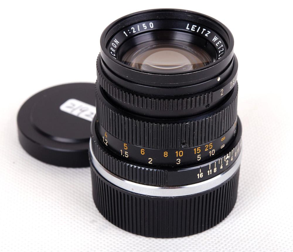 【美品】Leica/ライカ Leitz SUMMICRON/ズミクロン M 50mm F2 二代 ドイツ産 11817 233万号#jp21922