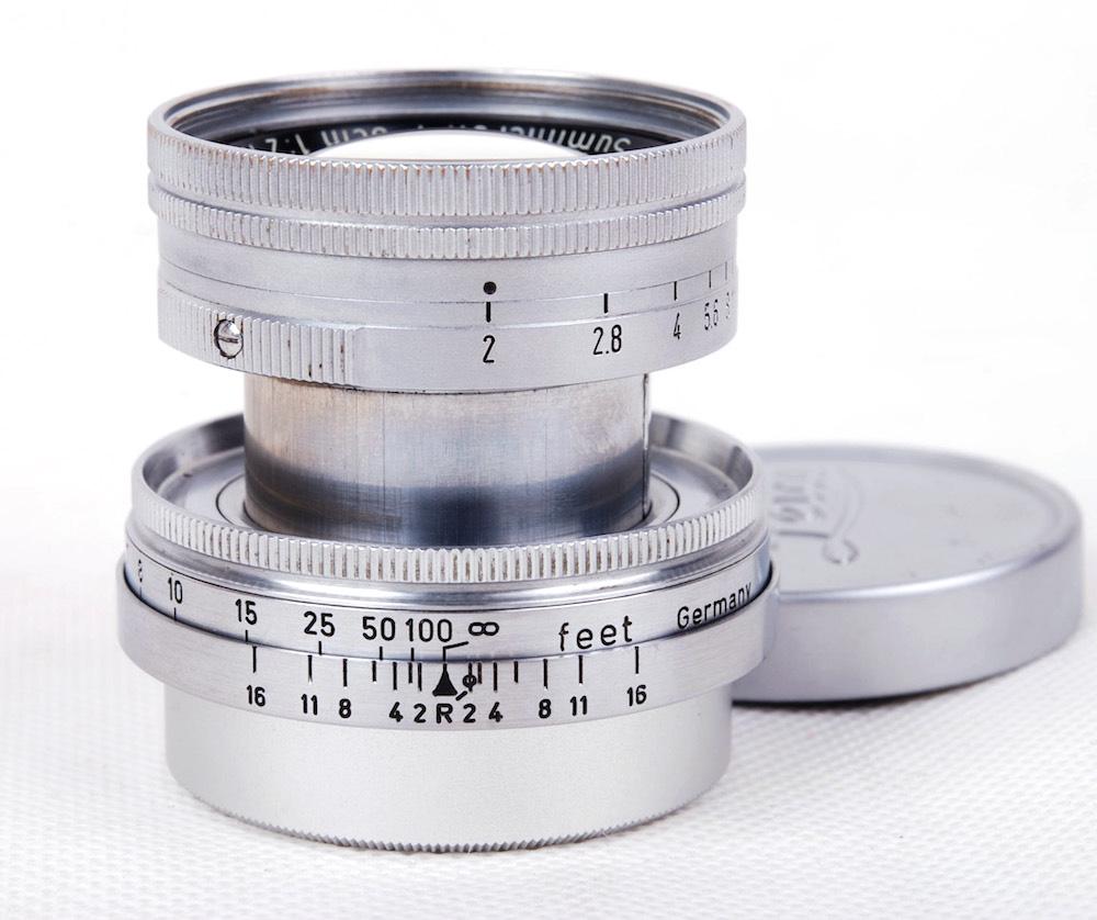 【放射性レンズ 美品】Leica/ライカ Summicron/ズミクロン 50mm F2 112万号 L39マウント レンズ#HK8492