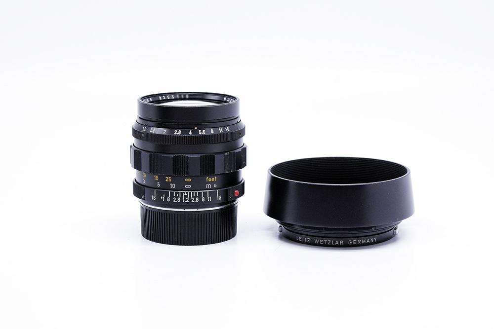 【美品】Leica/ライカ Noctilux/ノクティルックス Mマウント 50mm F1.2 Aspherical 12503フード付き レンズ#HK8534