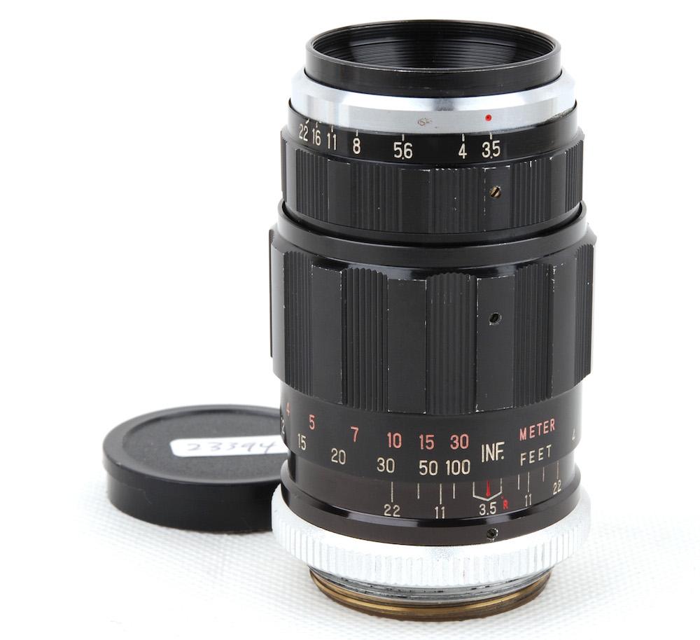 美品 Kyoei Optical Co. LTD 共栄光学 公式 数量限定 レンズ#jp23394 F3.5 80mm Acall ライカL39マウント