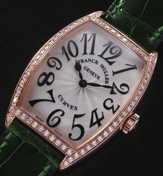 ★新品★franck muller フランク ミュラー 2852QZD 1R K18PG クォーツ 腕時計