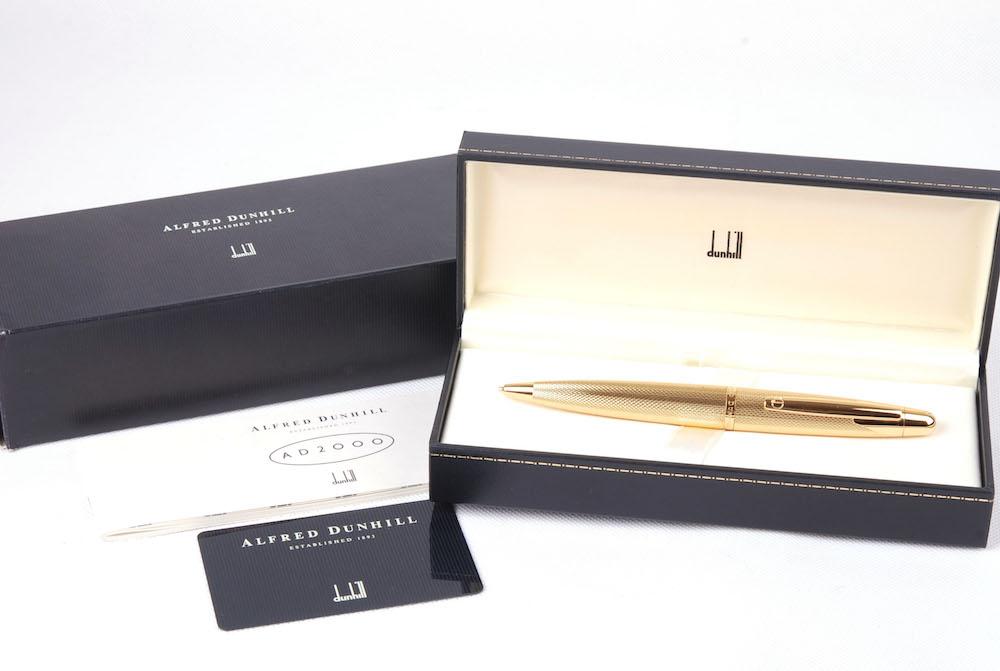 0.9mm 自動鉛筆 AD2000シリーズ ゴールド 【新品】Dunhill/ダンヒル 箱付き#jp20870