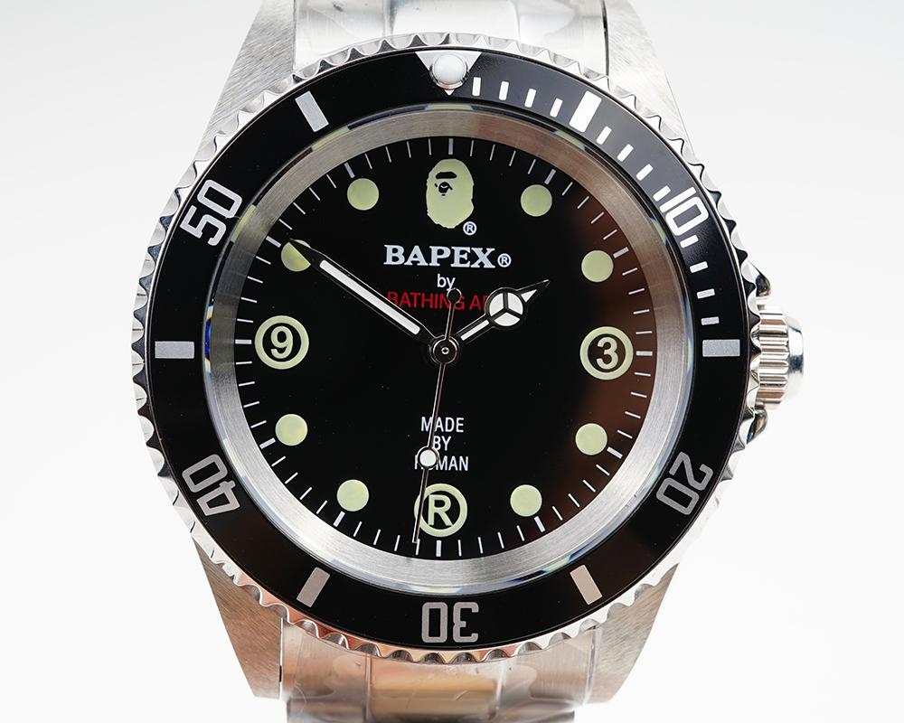 【新品】A BATHING APE/ア・ベイシング・エイプ Bapex T001シリーズ Rolex/ロレックス Explorer/エクスプローラー タイプ 40mm 自動巻き 腕時計#33885