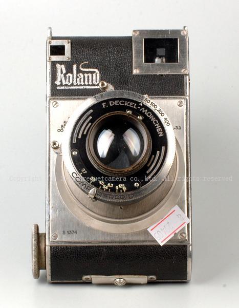 ★珍品★ローランド Roland 645 + Plasmat 70mm F2.7