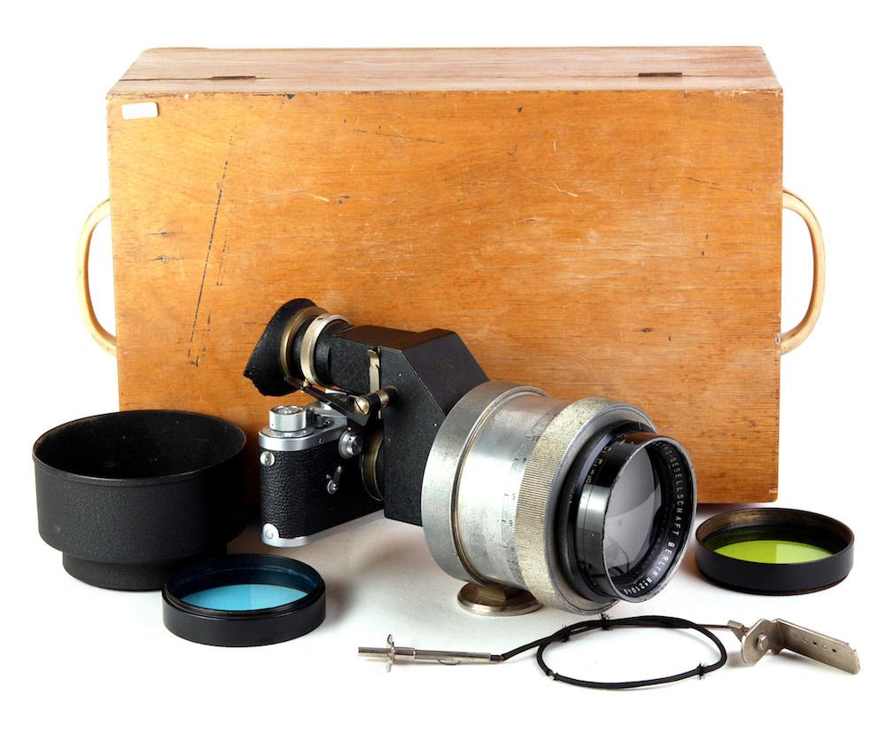 【良品】ASTRO-GESELLSCHAFT BERLIN/アストロ・ベルリン 150mm F2.3 ライカL39マウント レンズ#jp22678X