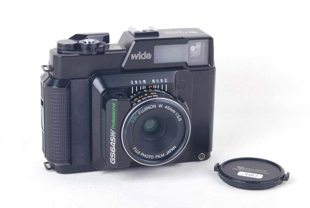 【美品】Fujica/富士卡 GS645W professional wide EBC FUJINON W 45/5.6レンズ付き#jp19862