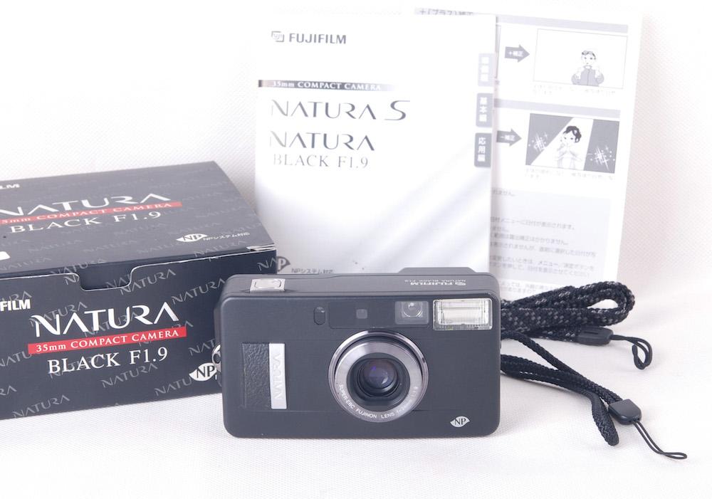 Fujifilm/富士フィルム Natura F1.9 ブラック 24/1.9 大口径アパーチャー広角レンズ 高級レンジファインダーカメラ#jp20095
