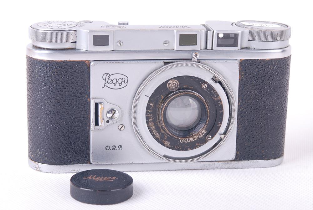 【コレクション美品】Peggy Stuttgart II Kleinbild-Plasmat 50mm F2.7レンズ付き Hugo Meyer Makro Plasmat #jp19856