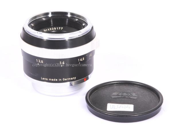 ★レア★Contarex S-Planar 50mm/F4 黒鏡胴 接写撮影専用レンズ