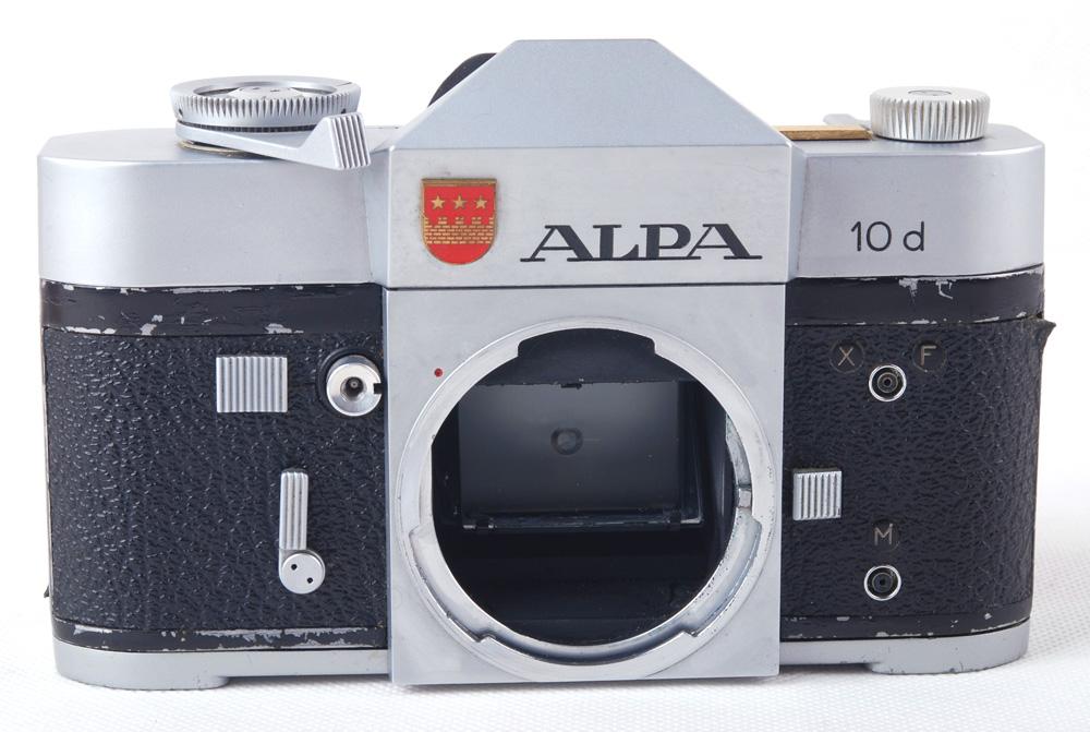 【良品】ALPA/アルパ 10d シルバーボディ#jp20287