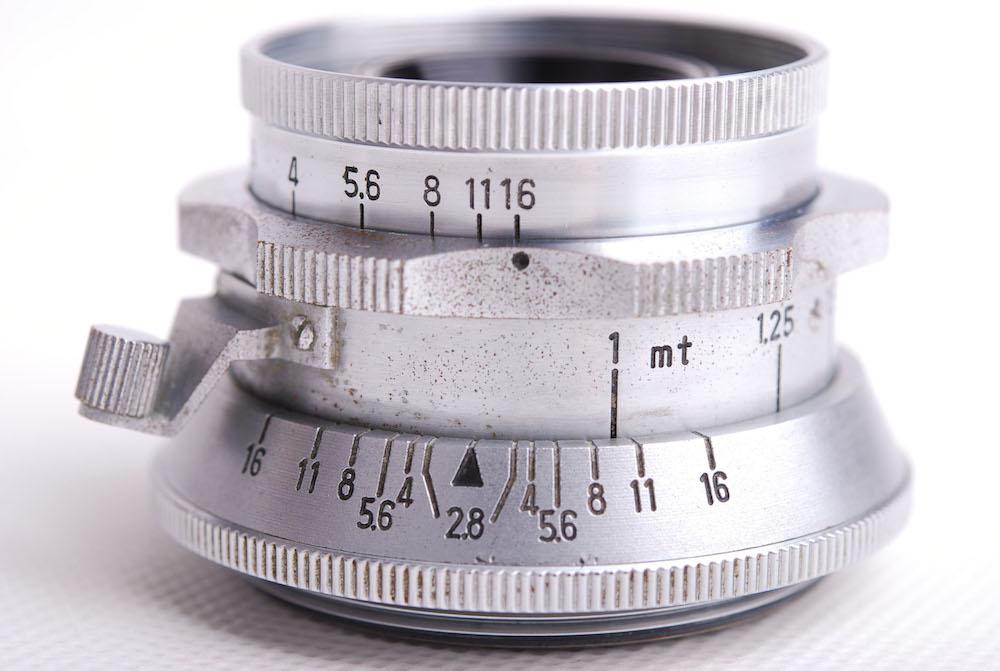 【美品】Minolta/ミノルタ Chiyoko Super Rokkor 45mm F2.8 シルバーレンズ Leica LTM #jp21069