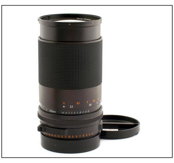 特価ハッセル Tele-Tessar FE T* 250mm F4 2000/200シリーズ用