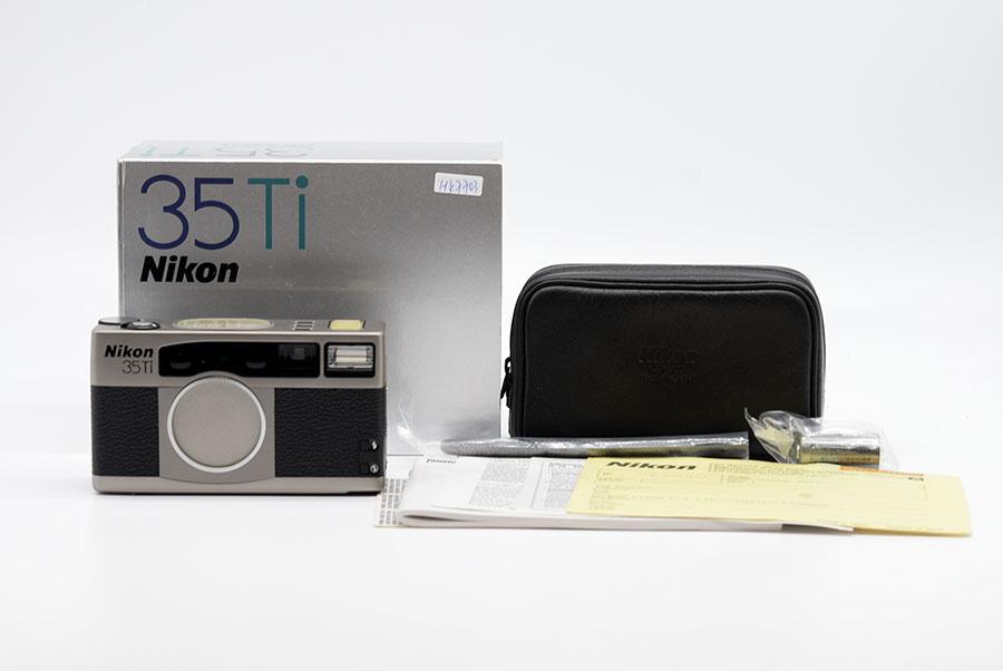 【美品】Nikon/ニコン 35Ti  元箱 取扱説明書 ストラップ付き #HK7703