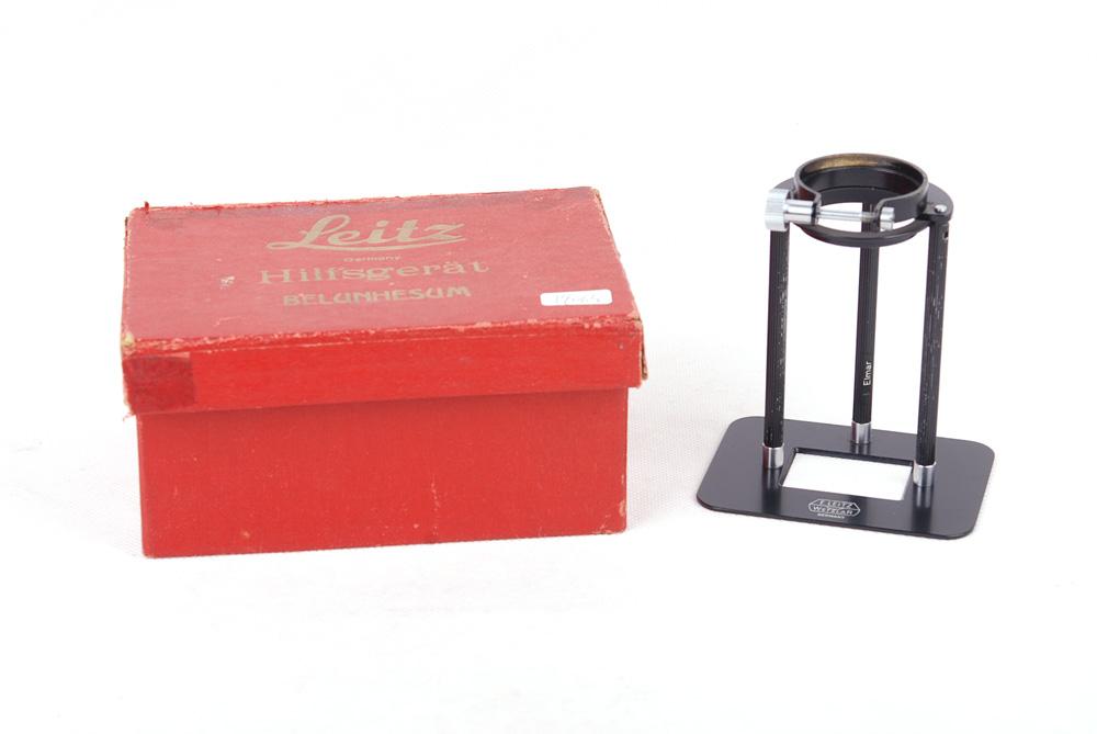 【美品】LEICA/ライカ HILFSGERAT BELUNHESUM Macro Copy Stand ブラック スタンド#jp19063