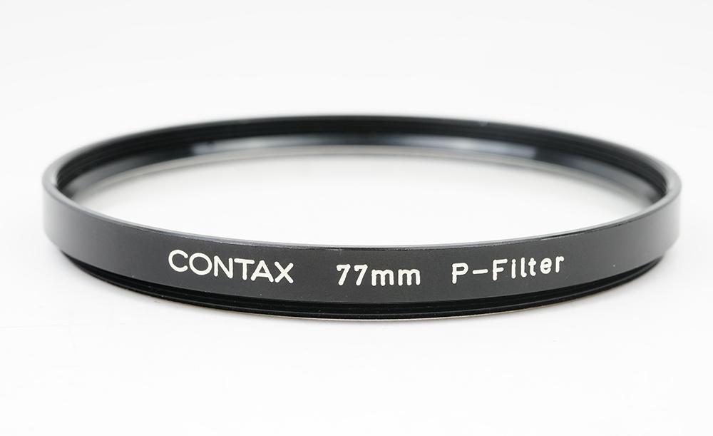 特価品 Contax コンタックス (人気激安) 77mm p-filter フィルタ Planar 1.2適応#34093 と85 55 1.2 ふるさと割