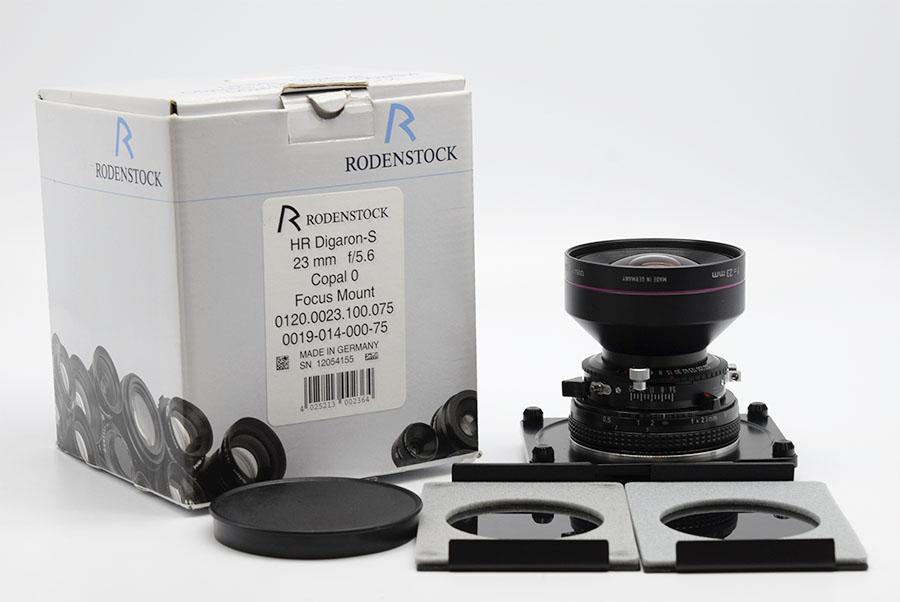 【美品】Rodenstock/ローデンストック HR-Digaron-S 23/5.6 HORSEMAN SW-DII Pro SW-D II レンズ#HK7776