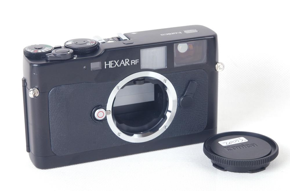 【美品】Konica/コニカ Hexar RF 後期ブラックボディ Leica Mマウントカメラ #jp20053
