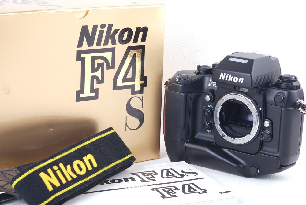 【名品クラシックカメラ 美品】Nikon/ニコン F4s w/MB-21手柄 包装付属品など完備#jp19867