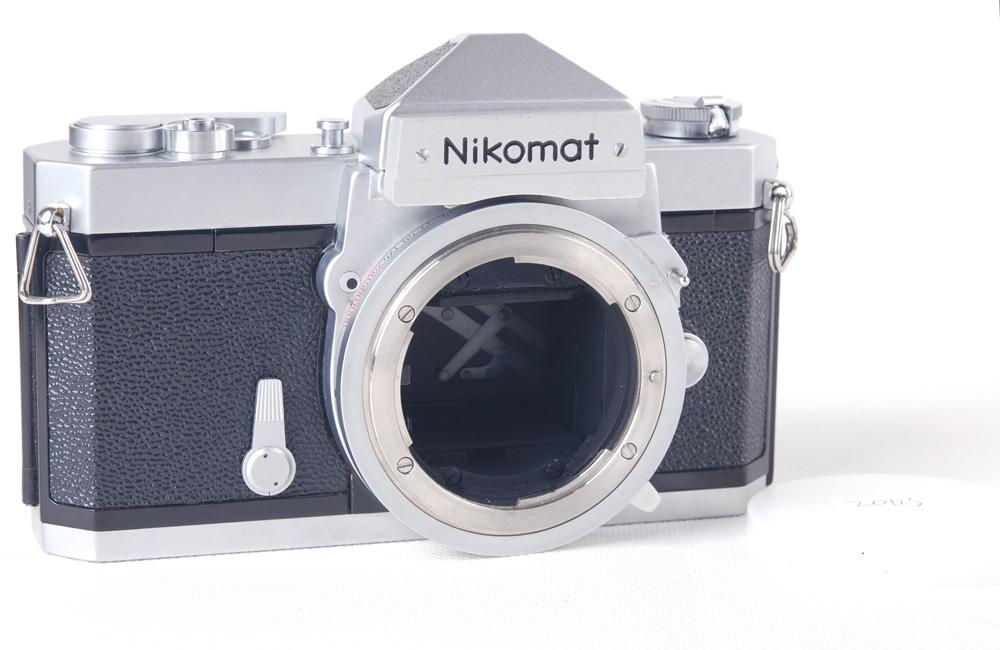【美品】Nikon/ニコン  Nikomat FT シルバーボディ#jp20123