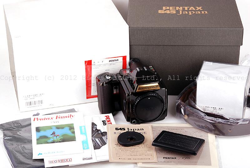 【新品】PENTAX/ペンタックス 645J+SMC PENTAX-A 75/2.8セット日本ブラックペイント限定版 #JP11660