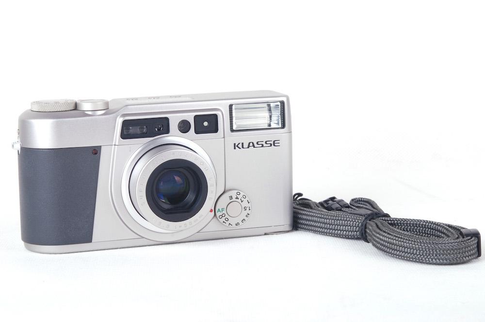 【美品】Fujifilm/富士フィルム Klasse シルバー 38/2.6レンズ付き レンジファインダーカメラ#jp20360