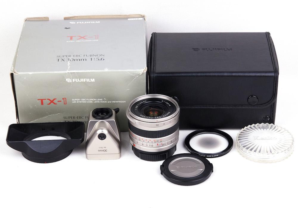 【美品】Fujifilm/富士フィルム Super-EBC Fujinon 30/5.6 ハッセル xpan/TX-2など通用+TX30MM ND-3Xセンターフィルター付き#jp21748