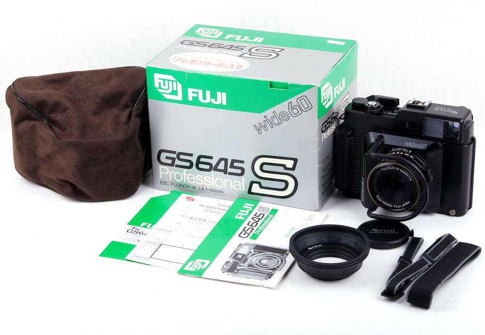 【新品】Fujifilm/富士フィルム Fuji GS645S professional wide60 EBC FUJINON 60/4レンズ付き フルセット#jp21668