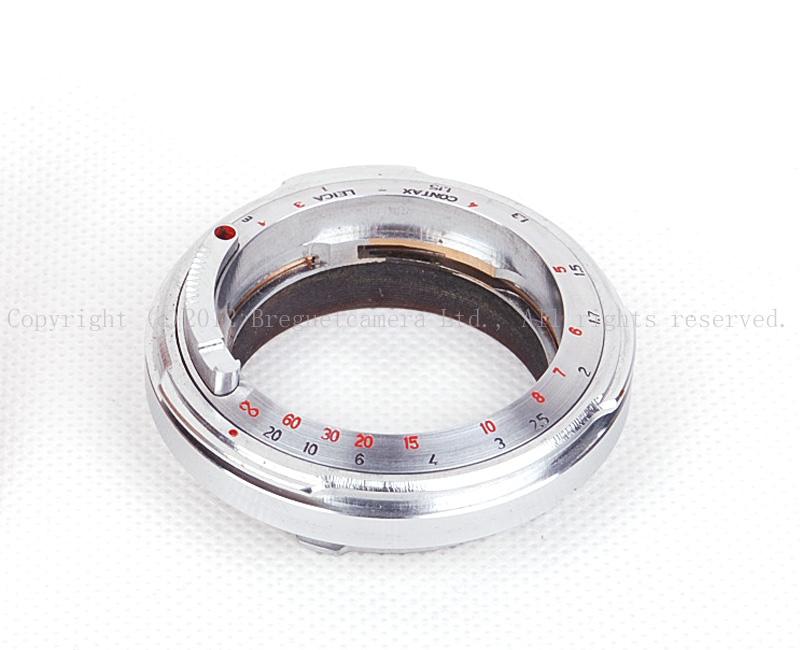 【新品】CONTAX/コンタックス RF-ライカMマウントアダプター 6bit