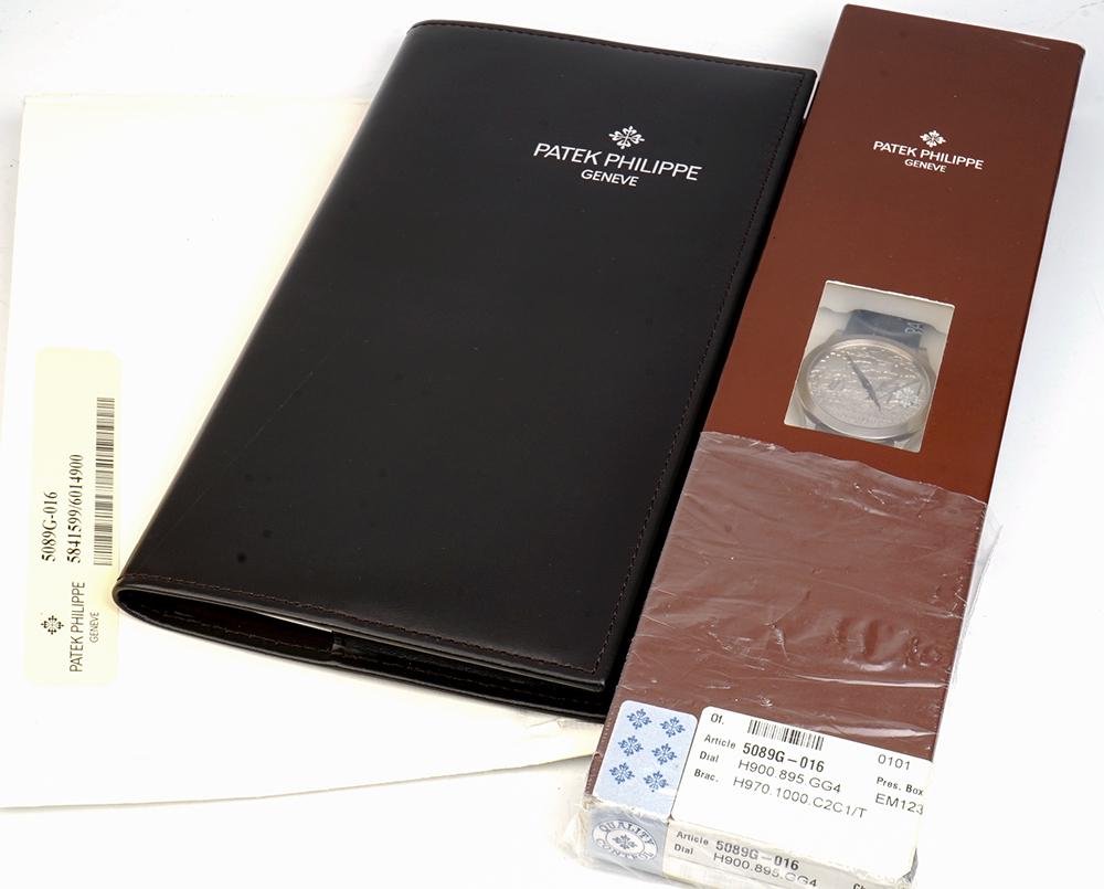 PATEK PHILIPPE/パテック・フィリップ 5089G-016 腕時計 新品 #X122
