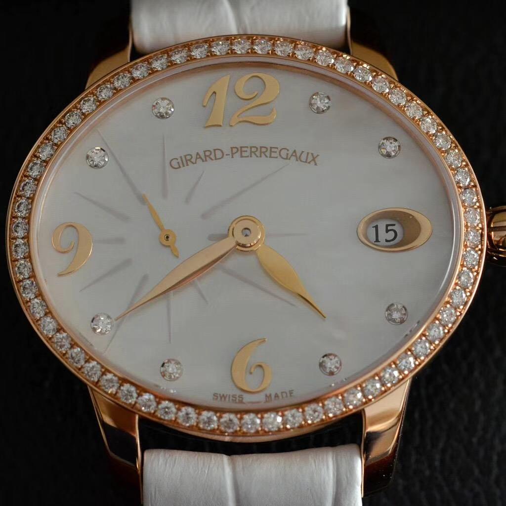 【全新】Girard Perregaux/ジラール・ペルゴ 80484D52A761-BK7A 腕時計 #GP020