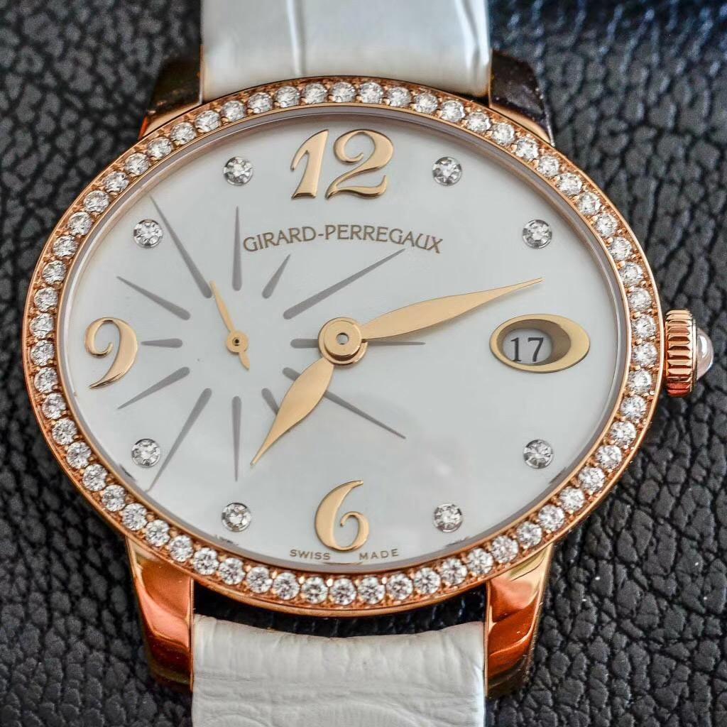 【全新】Girard Perregaux/ジラール・ペルゴ 80484D52A761-BK7B 腕時計#GP022
